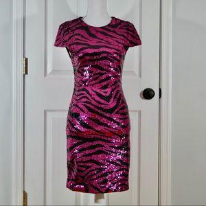 alice + olivia sequin mini dress FREE shipping